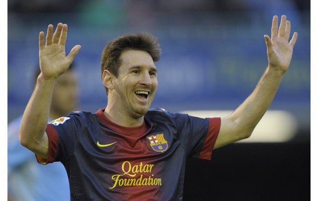 Messi anotó en 19 jornadas consecutivas para el Barcelona