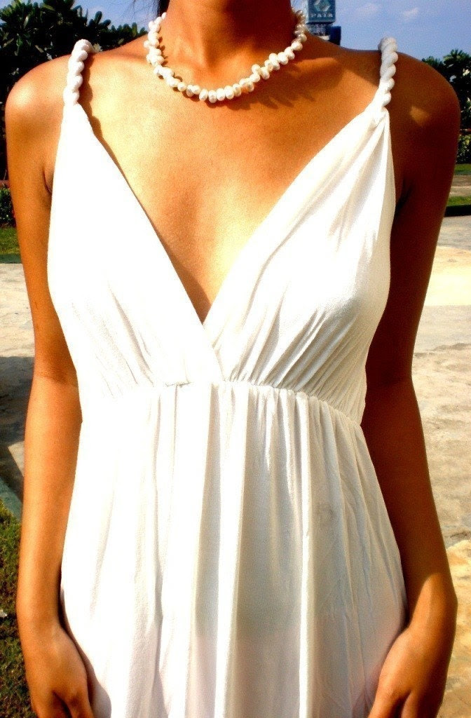 Glamor Maxi- Highly versatile Formal cocktail  or Summer Beach Dress Grecian style S, M, L