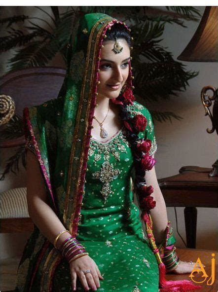 Latest Bridal Mehndi Dresses Collection 2015 2016