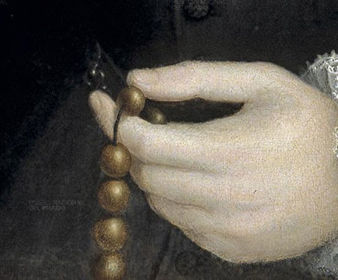 Detail, Philip II of Spain, © Museo del Prado