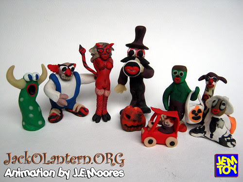 Characters from JackOLantern.ORG