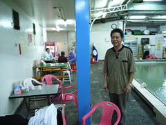 釣蝦場的老闆:昇哥