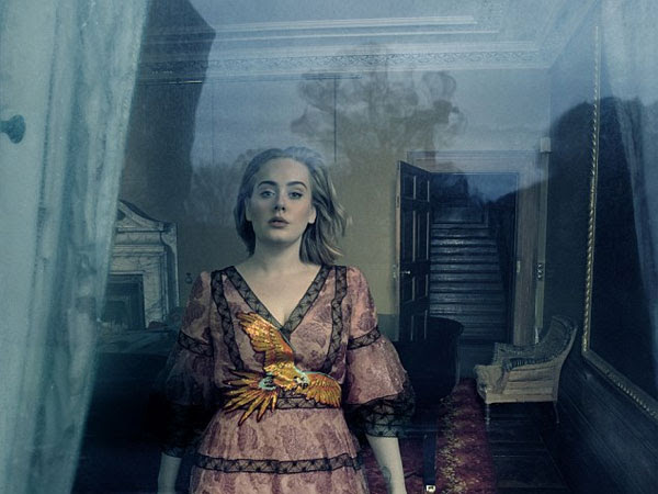 Adele graced Vogue magazine cover for its March 2016 issue ...