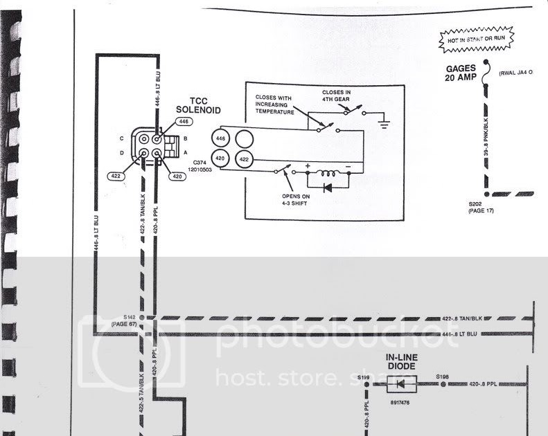 700r4 Transmission Wiring Diagram 85