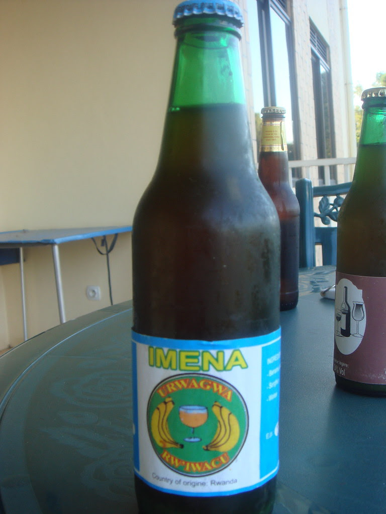 a different kind of banana beer