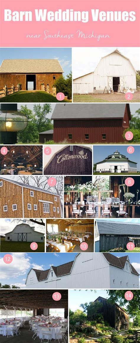 barn wedding venues  southeast michigan wedding