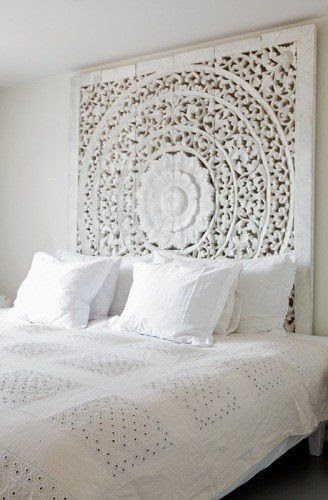 headborads make out of carved wood   ... large piece of carved wood. You can act as my headboard any day