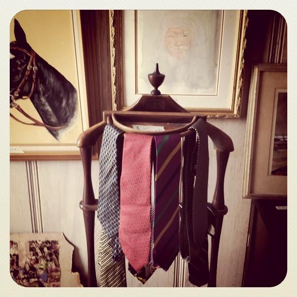 vintage valet and ties