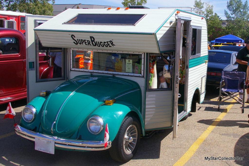 """Fuscas dos anos 1970 convertidos em trailers chamados """"fuscampistas"""" 08"""