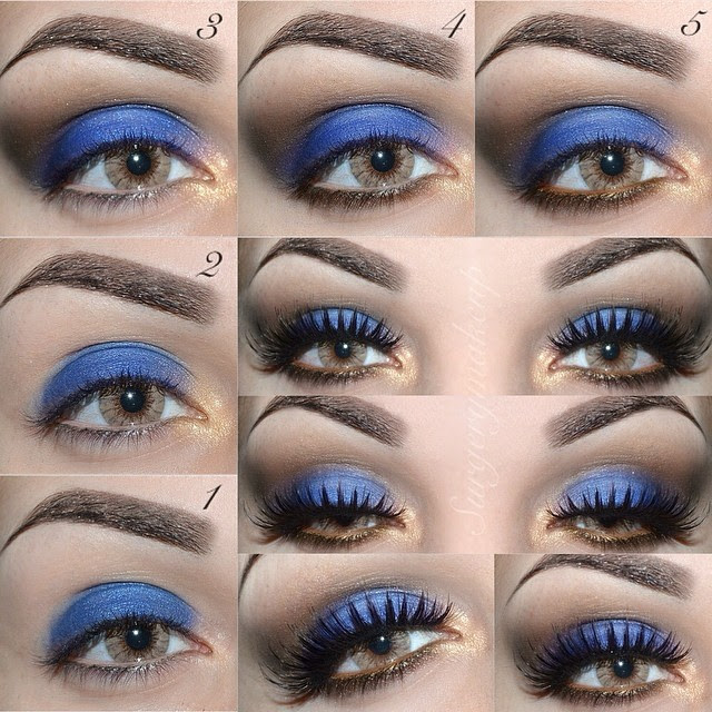 How to Rock Blue Makeup Looks - 20 Blue Makeup Ideas ...