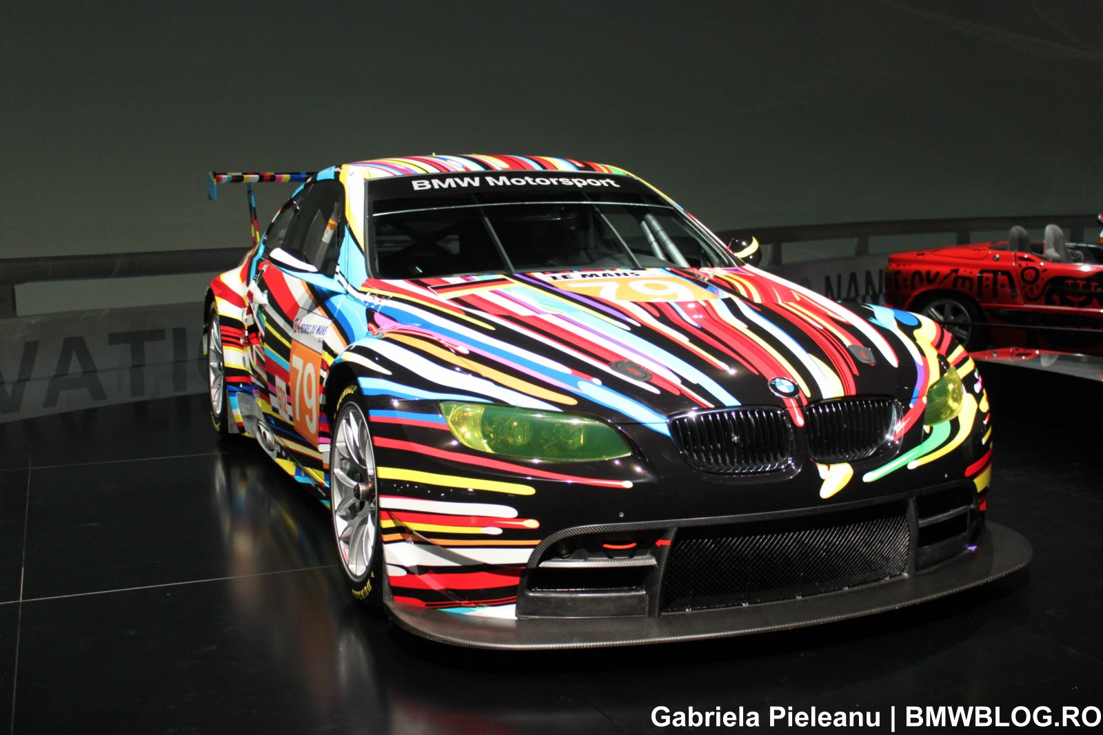 BMW M3 GT2 Art Car at the BMW Museum