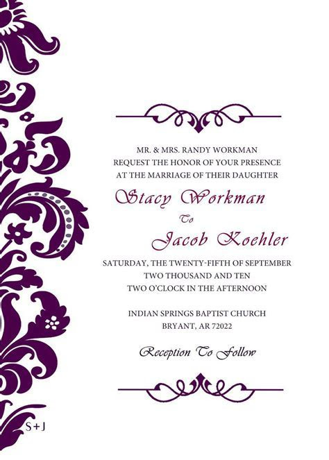 Best Invitation Cards : Unique Wedding Invitation Card