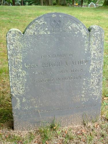 Priscilla MULLINS [memorial stone] by midgefrazel