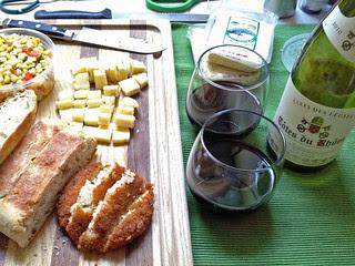 Petaluma Creamery - Food and Wine pairing