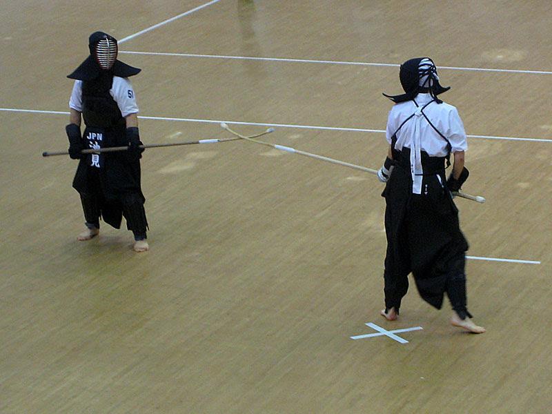 women's individual shiai #1