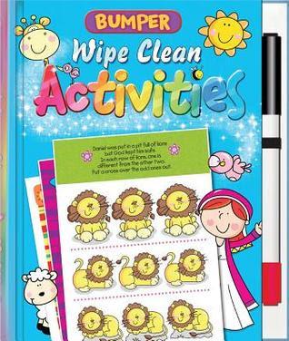 Bumper Wipe Clean Activities