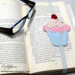 come fare segnalibro a forma di cupcake in feltro
