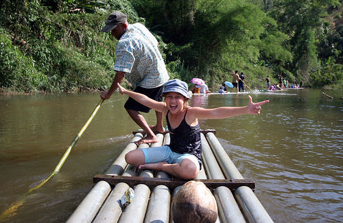Rafting at Phato