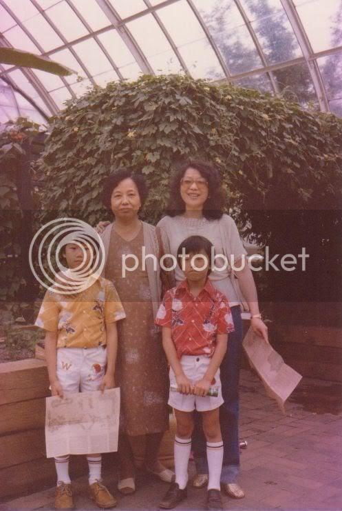 Richard, Grandma, Mother and Me