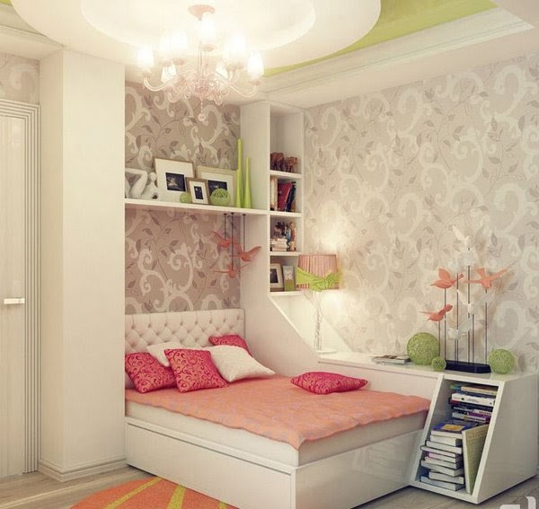 """Những thiết kế """"khuê phòng"""" đẹp cá tính cho con gái tuổi teen của bạn"""