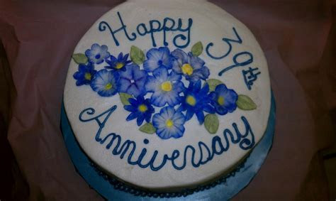 Tasty Pastry Cakes and More: 39th Anniversary