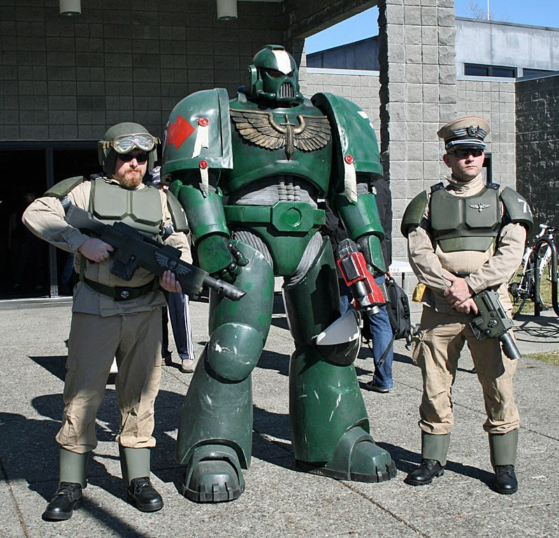 IG with Space Marine 5