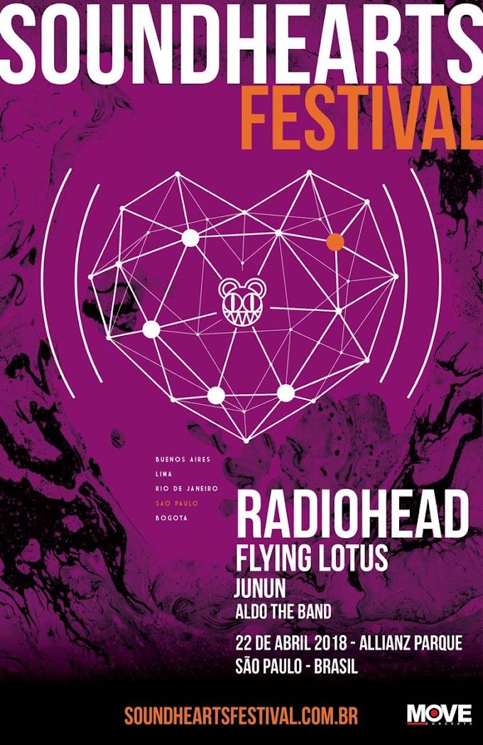 Radiohead confirma shows no Brasil