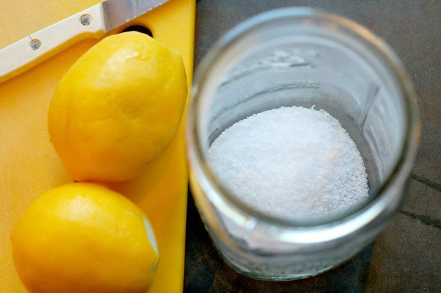 Making preserved lemons by Eve Fox, Garden of Eating blog, copyright 2011