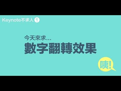 01.動畫 - 數字翻轉效果