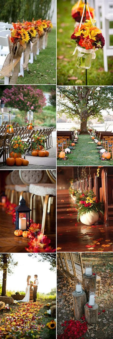 50   Genius Fall Wedding Ideas You?ll Love to Try