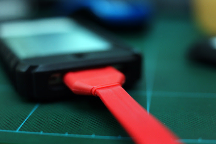 iPhone CABLE stylish red