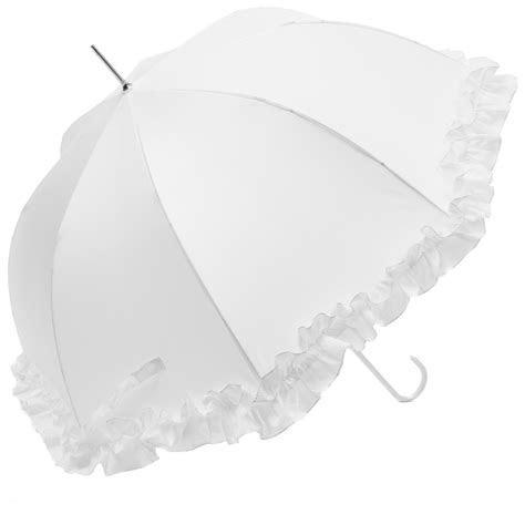 frill white wedding umbrellas wholesale