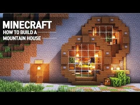 Minecraft : COMO CONSTRUIR UMA CASA NAS MONTANHAS