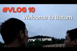 """Bukit Klara di Batam, Spot Foto Tulisan """"Welcome to Batam"""""""