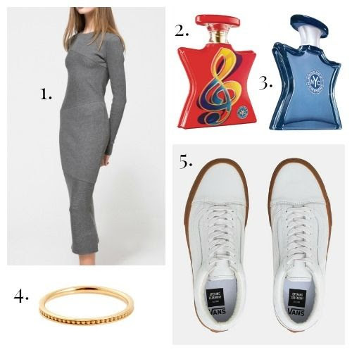 Cheap Monday Dress - Bond No. 9 Fragrance - Sarah and Sebastian Ring - Opening Ceremony x Vans Sneakers