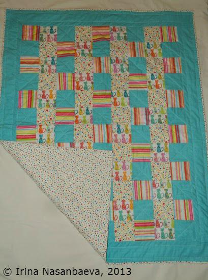 Irina's first quilt_3