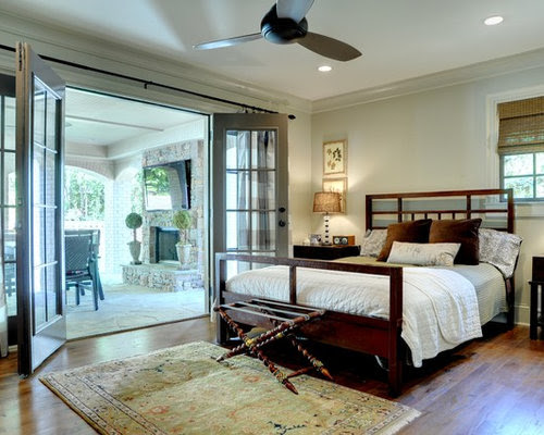 Bedroom With French Doors Home Design Ideas, Pictures, Remodel and