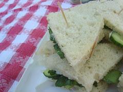 tea sandwiches à la AEB
