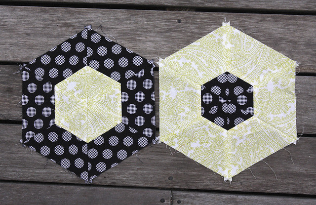 Bee blocks for Laurina