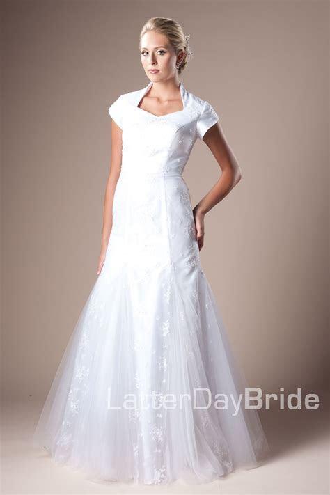 Modest Wedding Dress, Sheffield   LatterDayBride & Prom