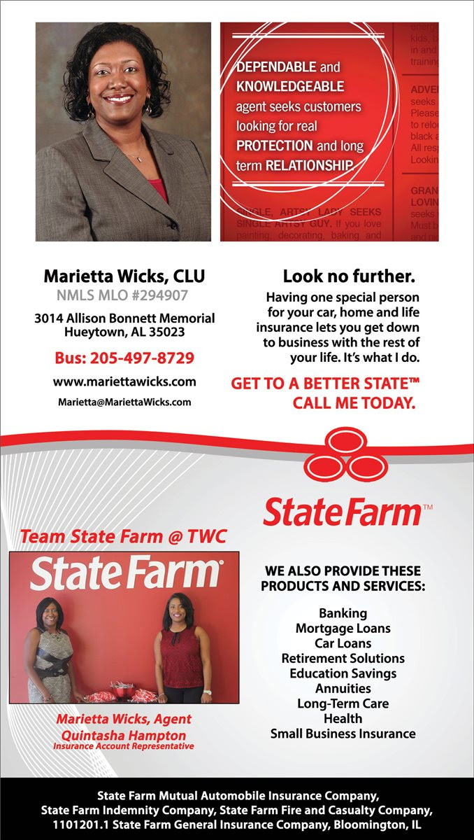 Christians In Business - State Farm Insurance - Details