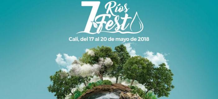 Por primera vez se realizará en Cali el 7 Ríos Fest