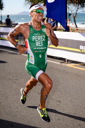 Irving Perez - Subaru Mooloolaba Men's ITU Triathlon World Cup - Mooloolaba Multi Sport Festival Super Saturday, 15 March 2014 - Mooloolaba, Sunshine Coast, Queensland, Australia. Photos by Des Thureson - http://disci.smugmug.com - Camera 1.