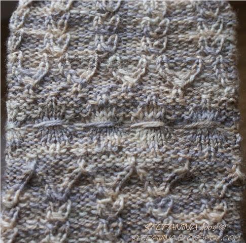 Mauresque socks - cuff