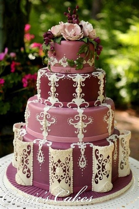 25  Best Ideas about Victorian Wedding Cakes on Pinterest