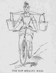 Milking Maid Bicycle (?!)