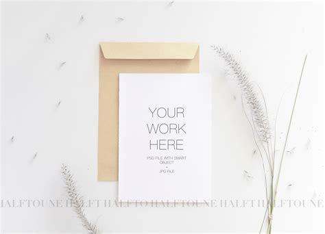 wedding invitation mockup kata kata mutiara