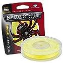 Spiderwire Braided Stealth Superline, 125-Yard/6-Pound, Hi-Vis Yellow