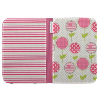Sweet Floral Kindle Keyboard Case