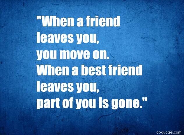 A Collection Of Best 19 Sad Friendship Quotes With Images Quotes